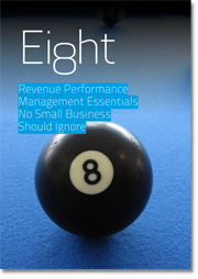 A free Eguide to growing leads and revenue with eight revenue performance management essentials for small businesses