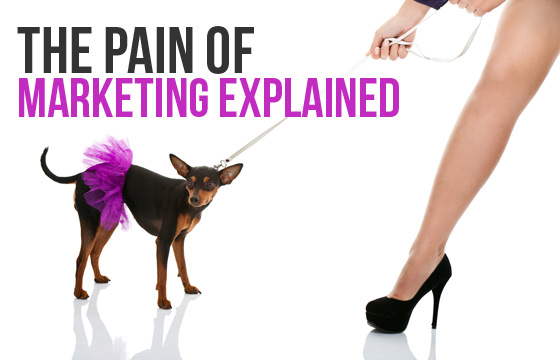 The Pain of Marketing Explained