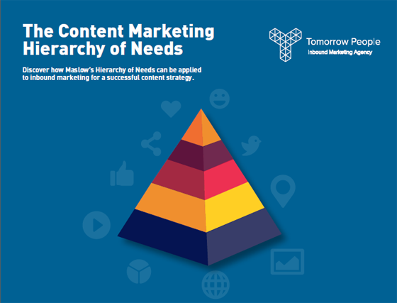 the content marketing hierachy of needs