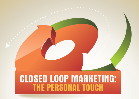 Closed loop marketing the personal touch