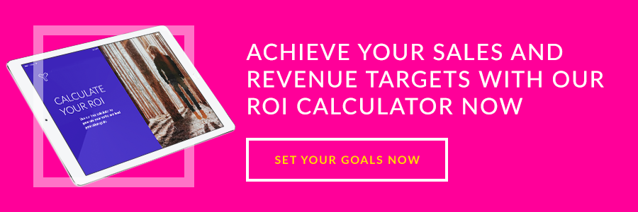 Achieve your sales and revenue targets with our ROI calculator now