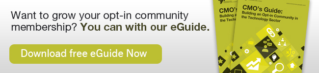 Want to grow your opt-in community membership? You can with our eGuide.