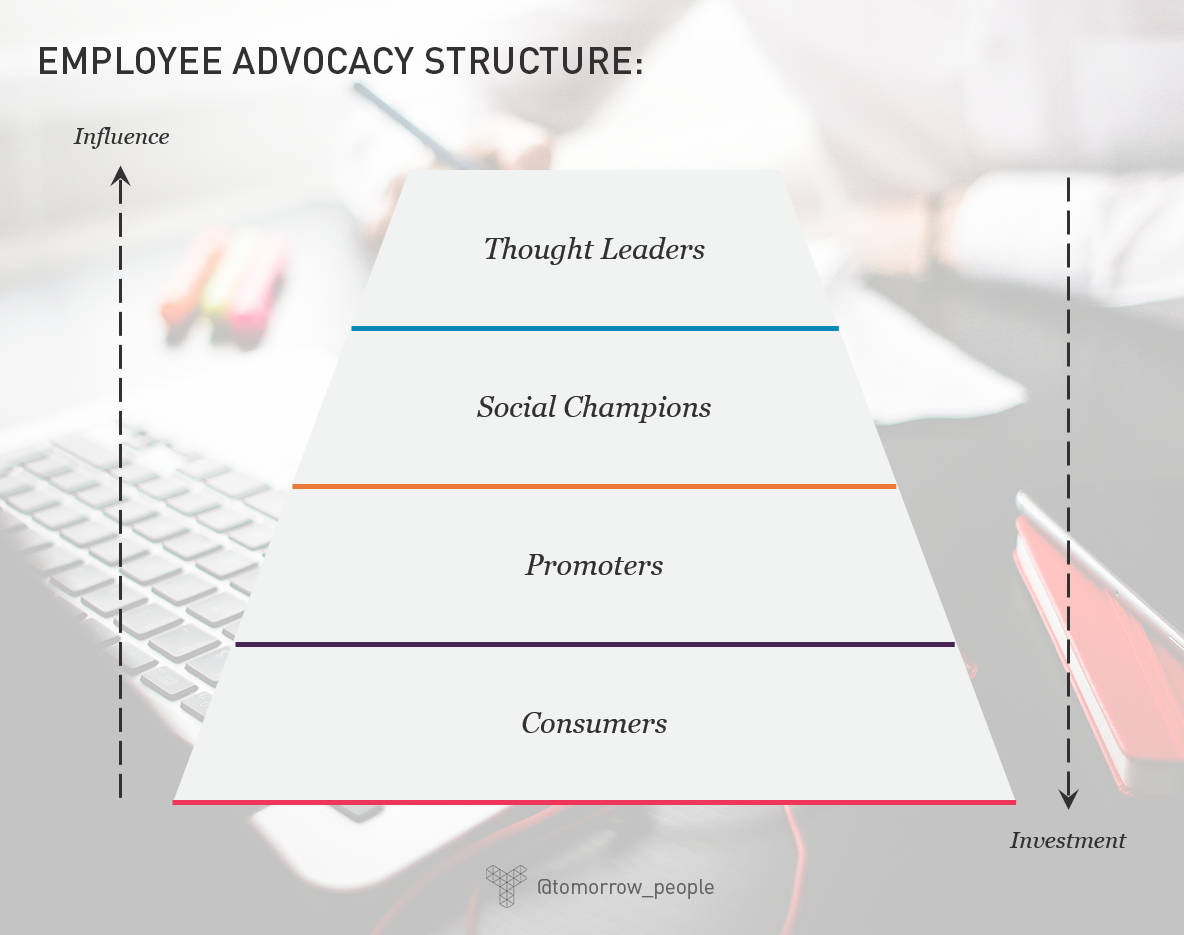 Employee advocacy - Internal structure  | Tomorrow People